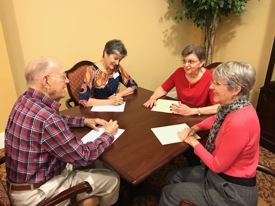 Pen pals for older adults