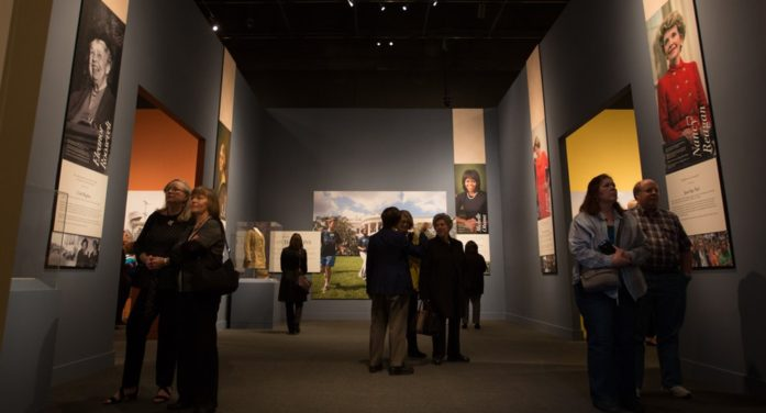 First ladies' exhibit part of 5th anniversary