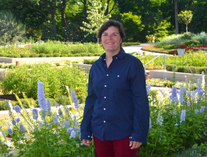 Horticulture expert honored by alma mater