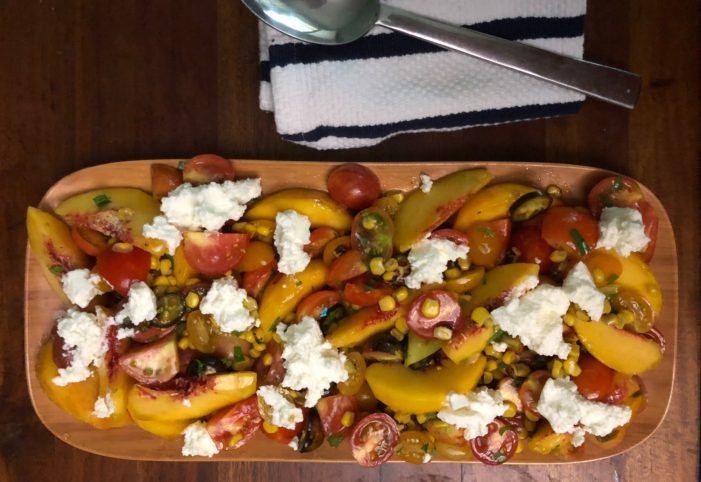 Summer Salad with Ricotta
