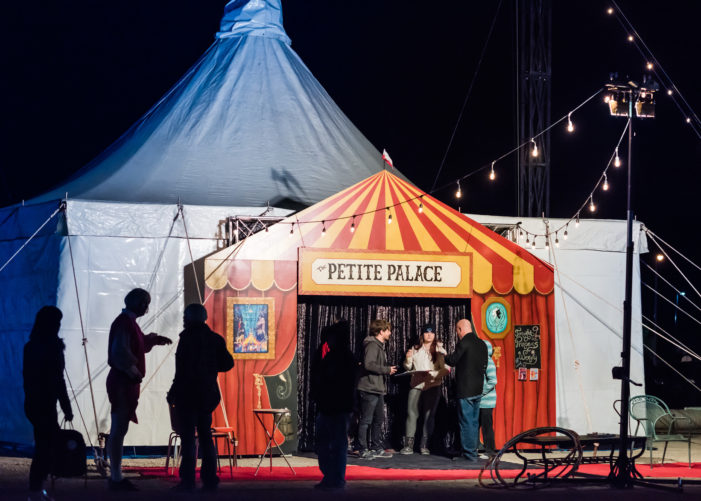 Big Top becomes 'Petite Palace' for new shows