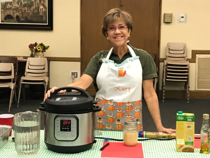 Women's Ministry offers 'pay as you may' cooking classes