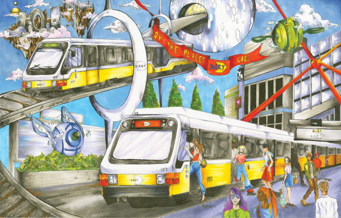 DART asks kids to draw destinations