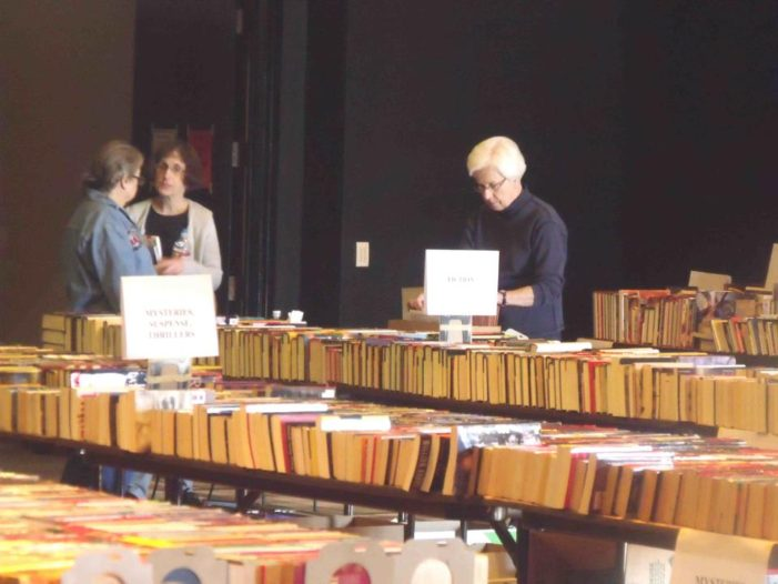 Members get sneak peek at book sale titles