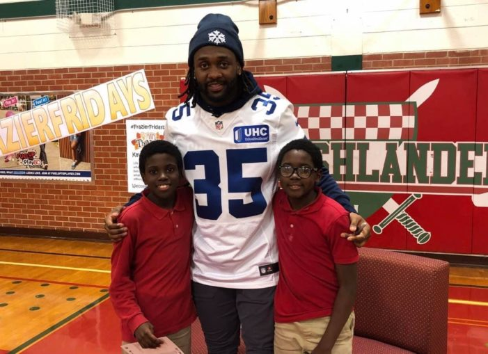 Cowboys great proves that 'Frazier Cares'