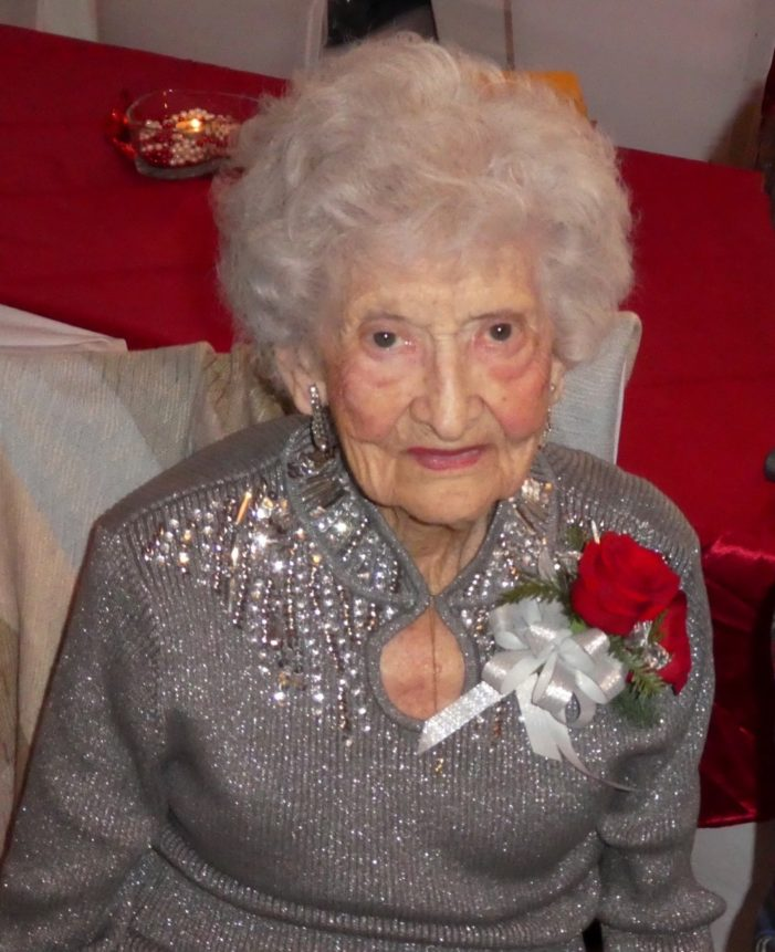 Great, great grandma ready to ring in 2019
