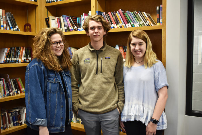 Students' dedication honored