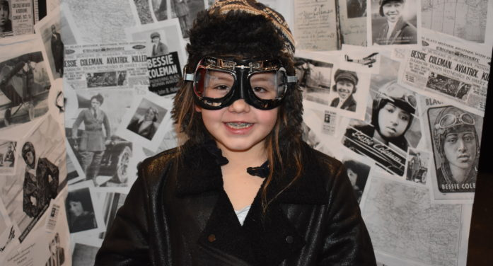 'Living' wax museum helps students learn history