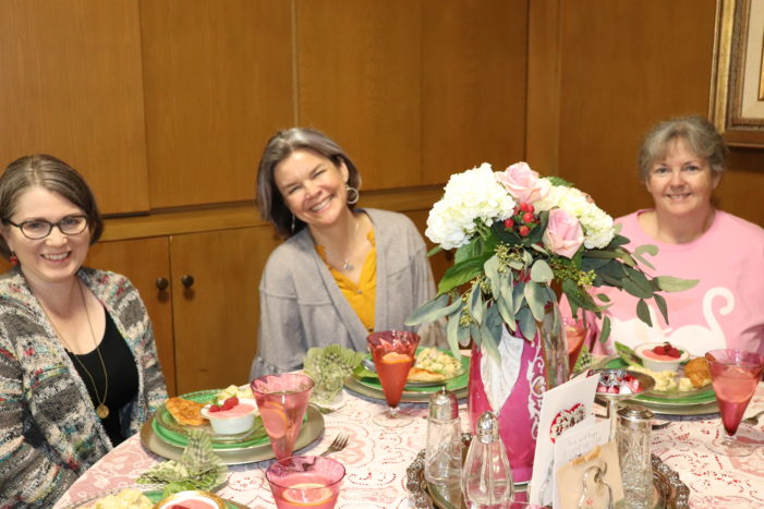 Luncheon discusses women in the early church