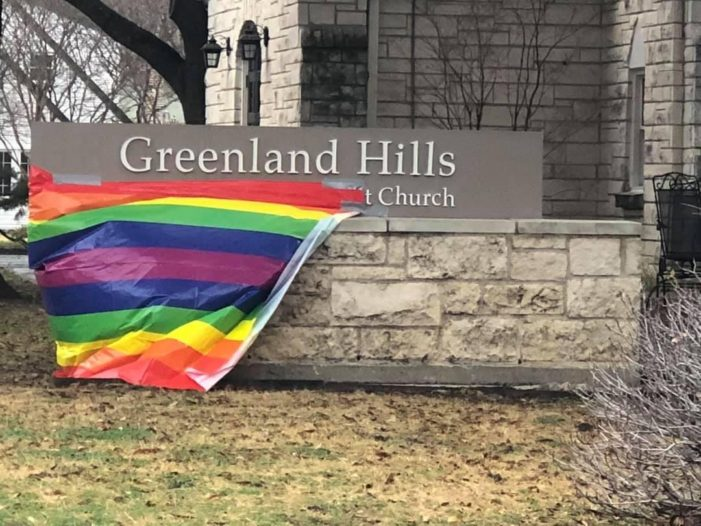 Church distances itself from decision