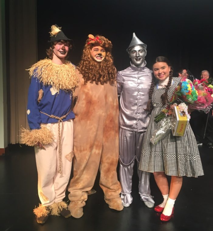 Creative students reveal the tale of Oz