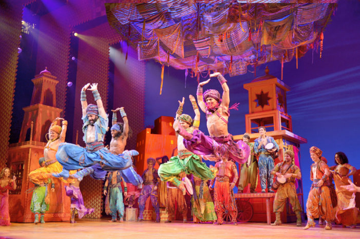 'Aladdin' a spectacular, magical carpet ride