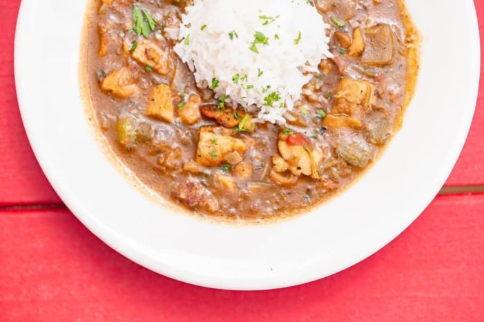 Get free gumbo for school donations