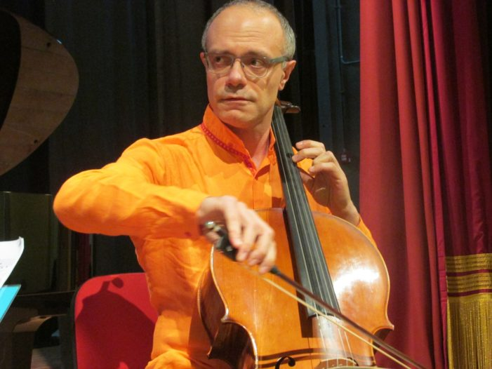 International cellist returns for solo concert