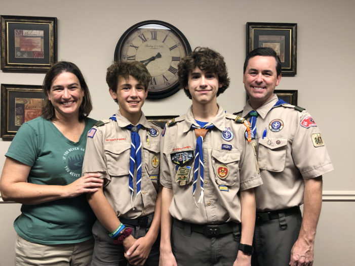 Refugees benefit from Eagle Scout project