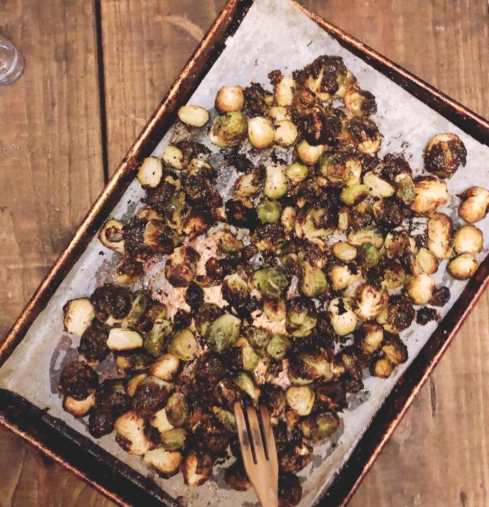 Miso Butter Brussels Sprouts