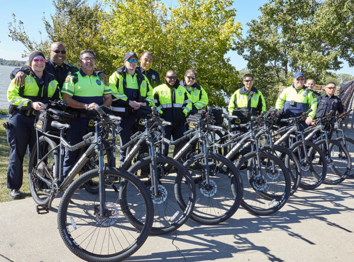 Bike unit all geared up for patrols