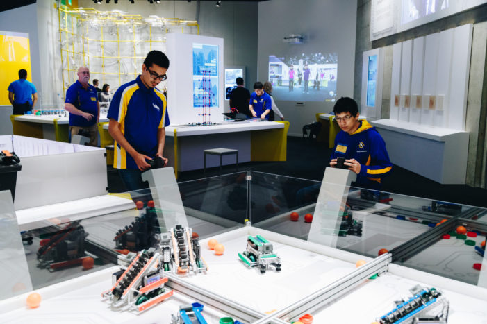 Solving problems to improve lives goals of Perot, TI engineers