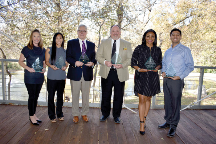 Shaping lives earns teachers awards