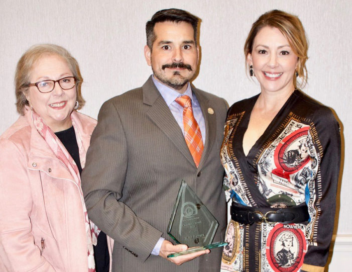 Barrera awarded for contributions